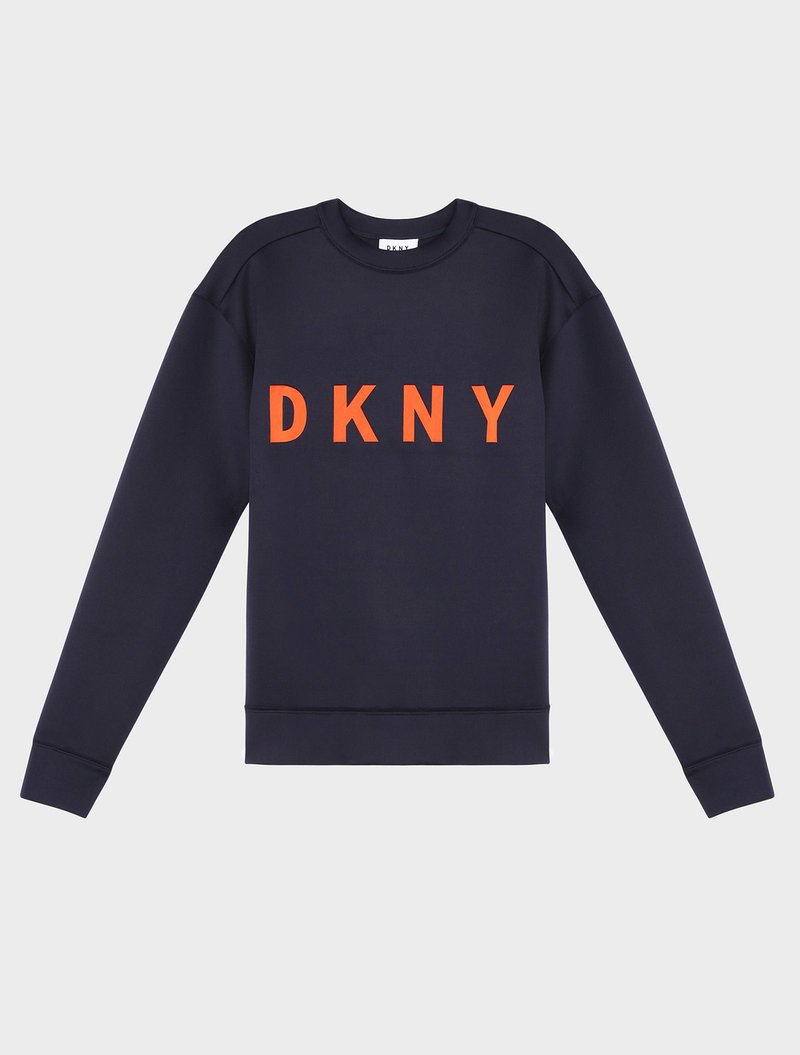 Crew Neck Pullover With Logo