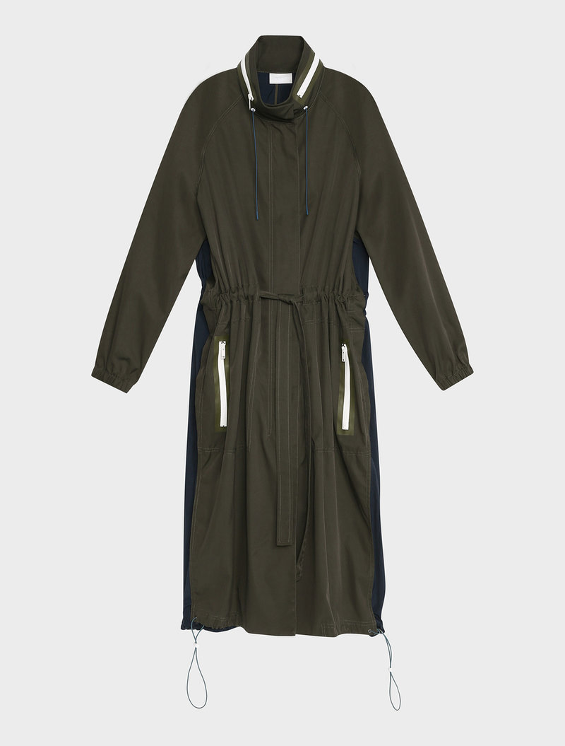 COAT WITH COTTON