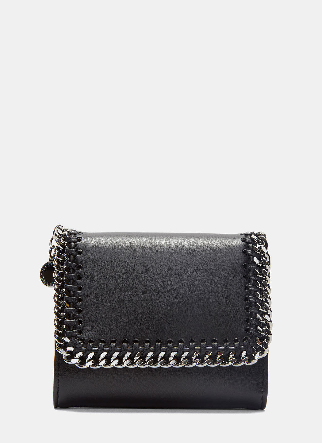 Women's Falabella Flap Wallet in Black