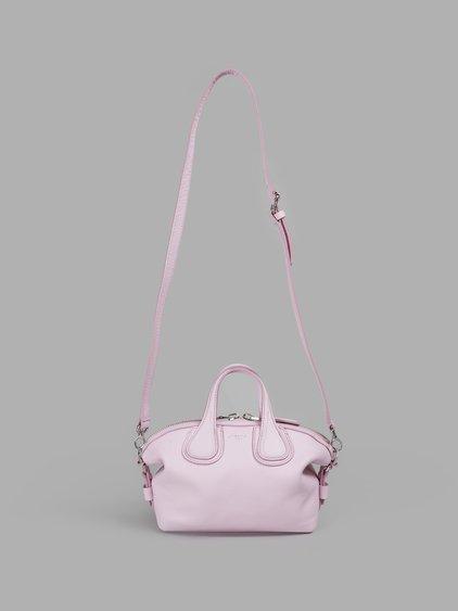 GIVENCHY WOMEN'S PINK MICRON NIGHTINGALE BAG
