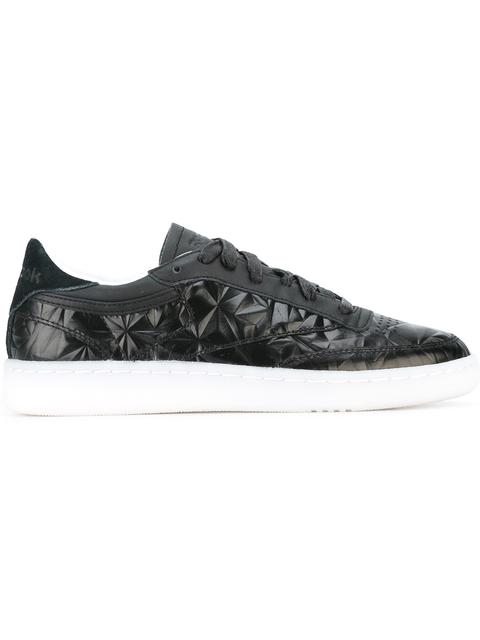 WOMEN'S CLUB C HYPE METALLIC CASUAL SNEAKERS FROM FINISH LINE