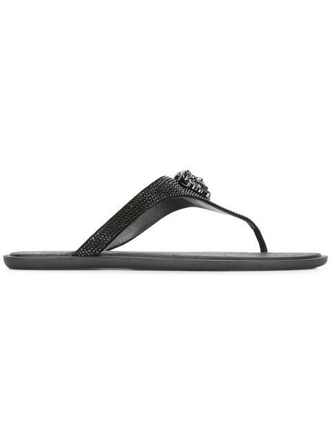 Black Jelly Medusa Slides