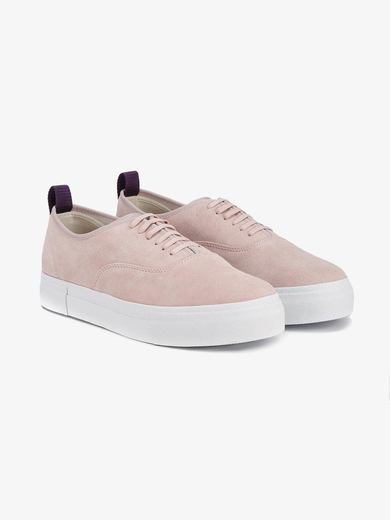 EYTYS Pink Mother Suede Sneakers