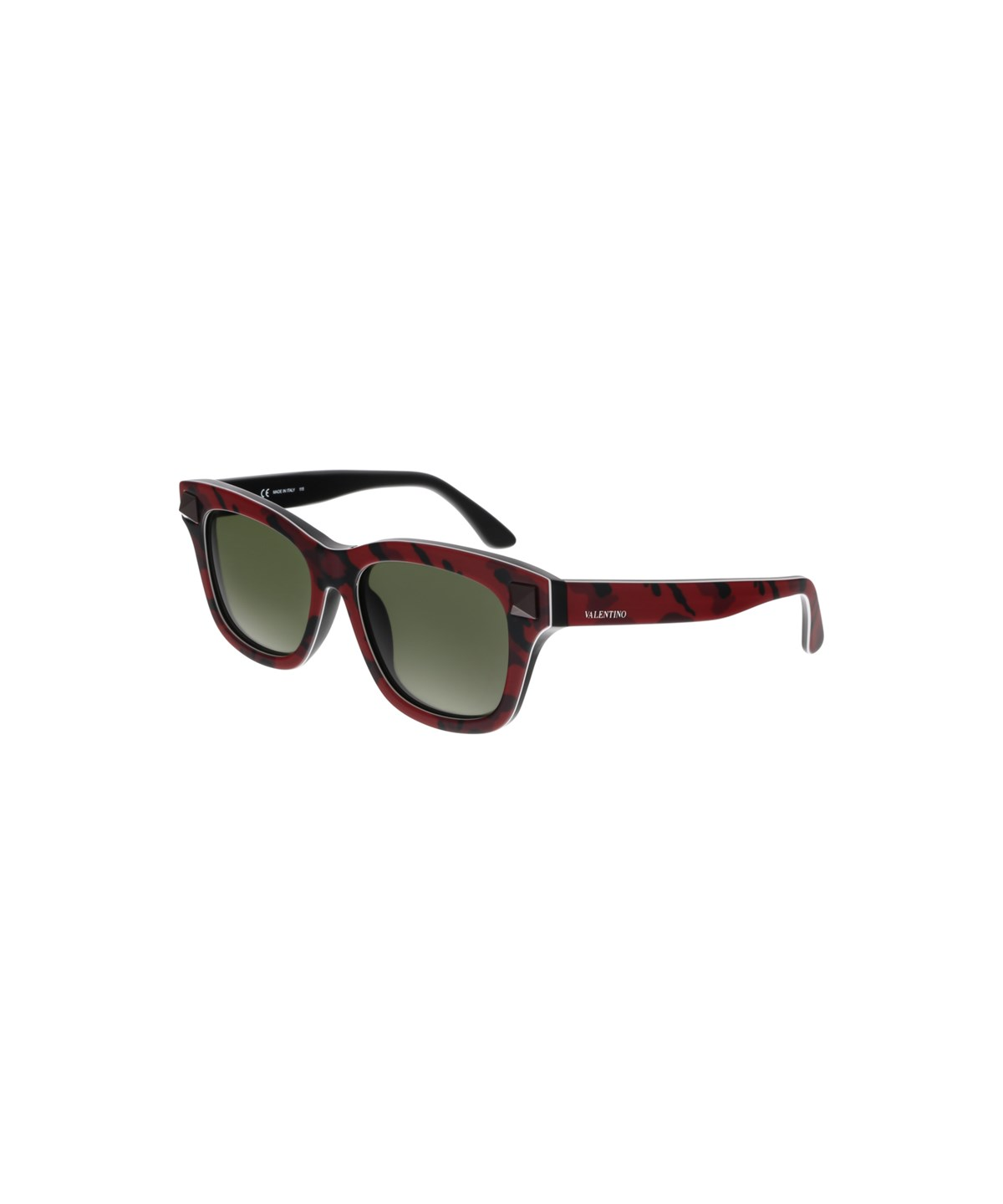 V670SC 638 CAMOUFLAGE RED CATEYE SUNGLASSES