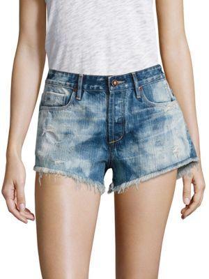 Karoo Cloud Slouchy Cut-Off Shorts