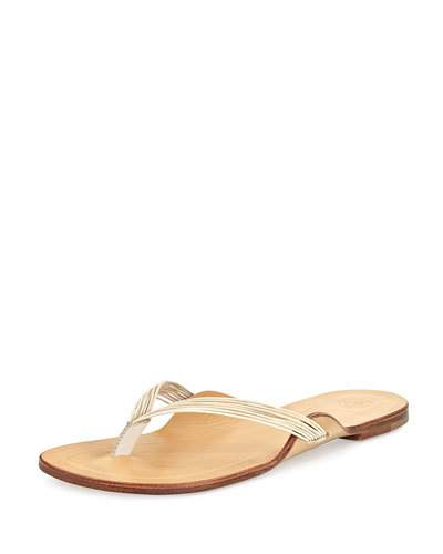 The Row Leathers CASABLANCA STRAPPY THONG SANDAL
