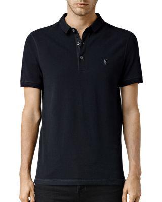 Allsaints Knits Reform Slim Fit Polo Shirt