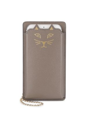 CHARLOTTE OLYMPIA Feline Iphone 6 Leather Case