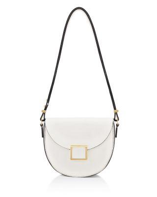 Jaime Leather Saddle Bag