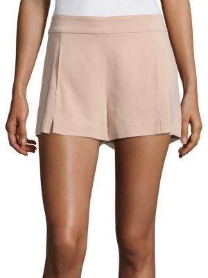 Adele Stretch Crepe Shorts
