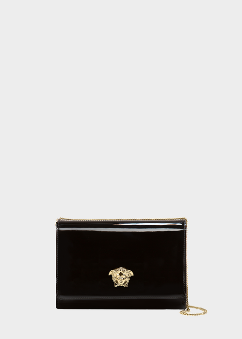 Patent Leather Palazzo Evening bag