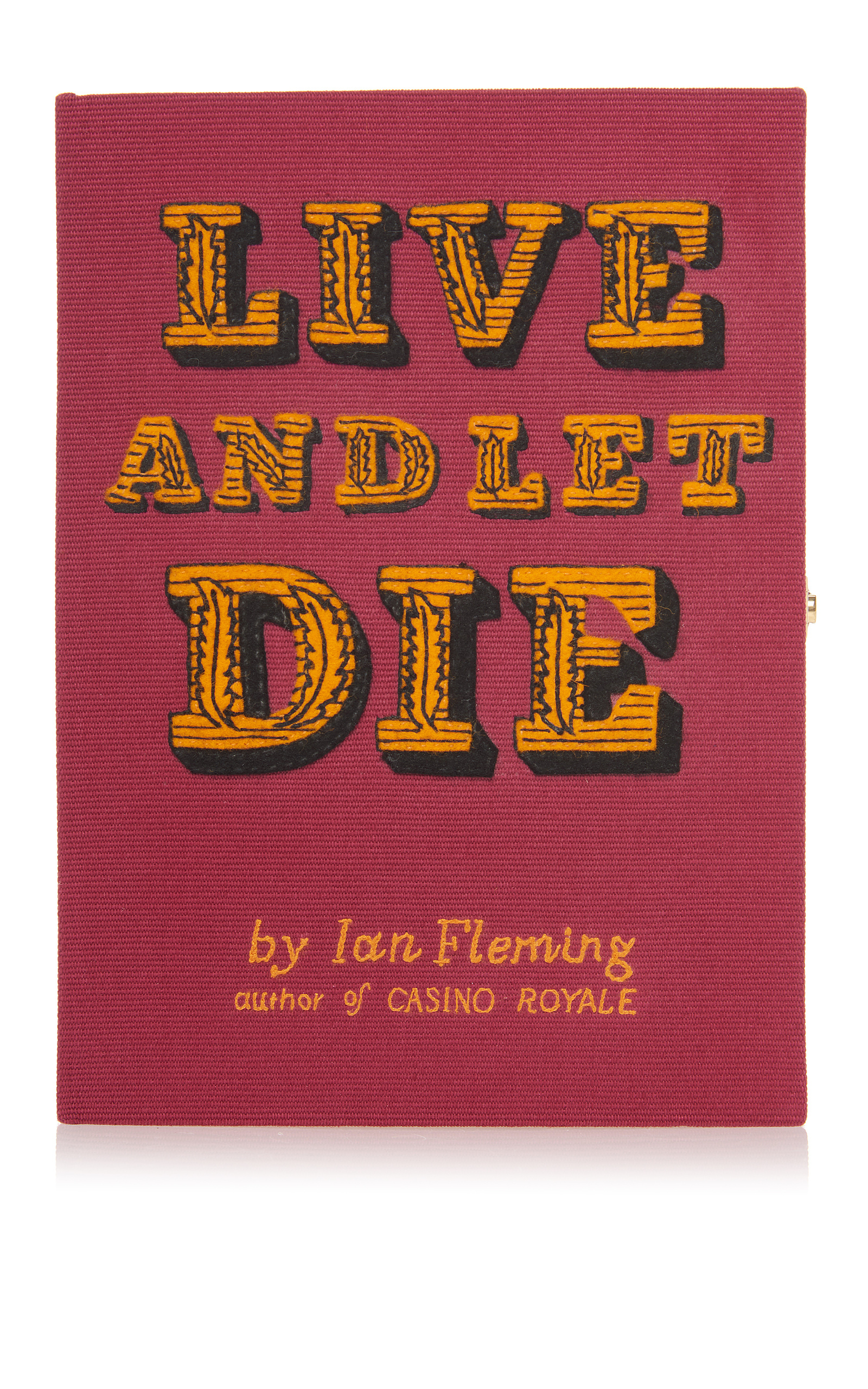 LIVE AND LET DIE BOOK CLUTCH BAG