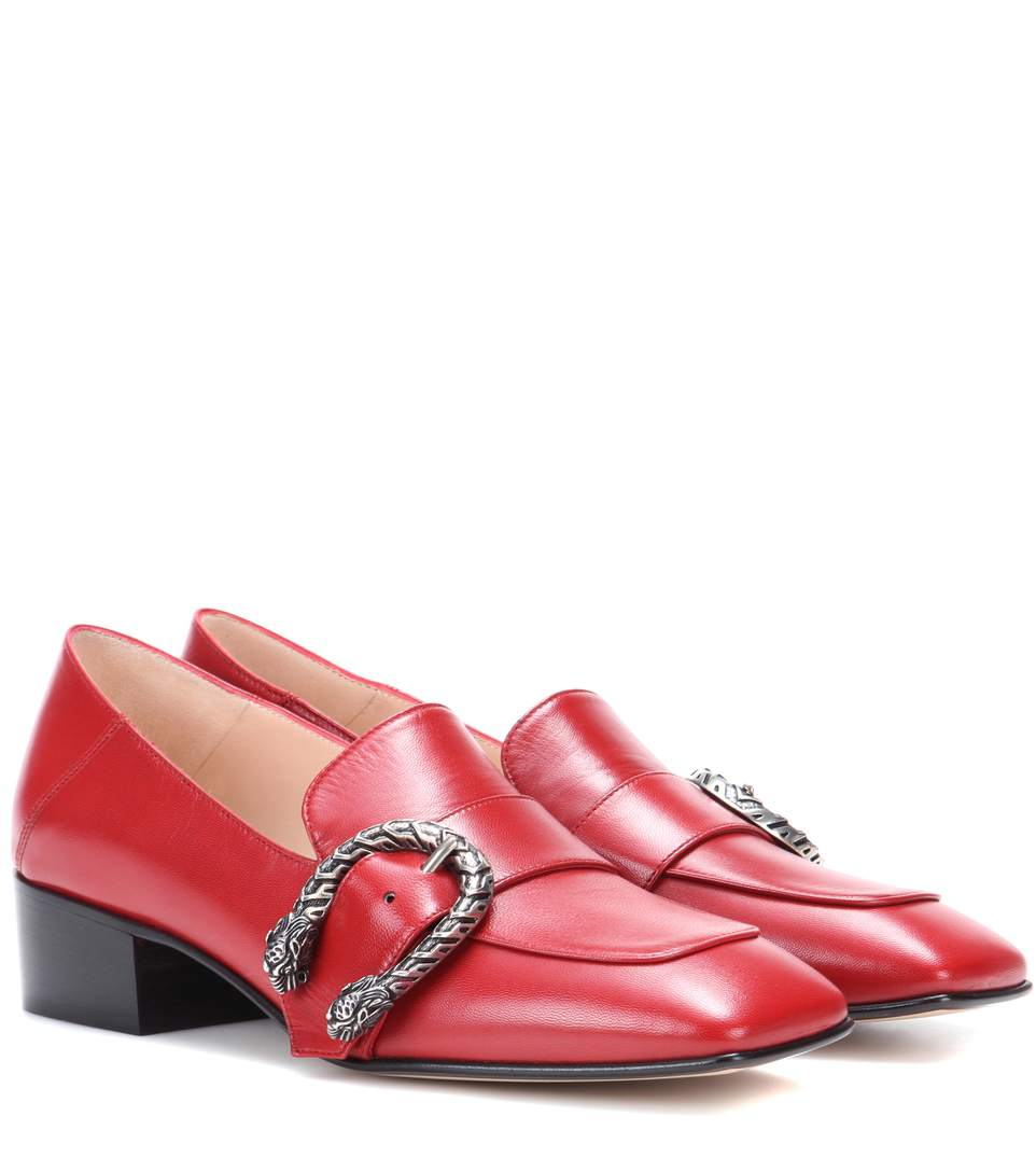 DIONYSUS LEATHER LOAFERS