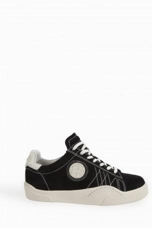WAVE ROUGH LOW-TOP SUEDE TRAINERS