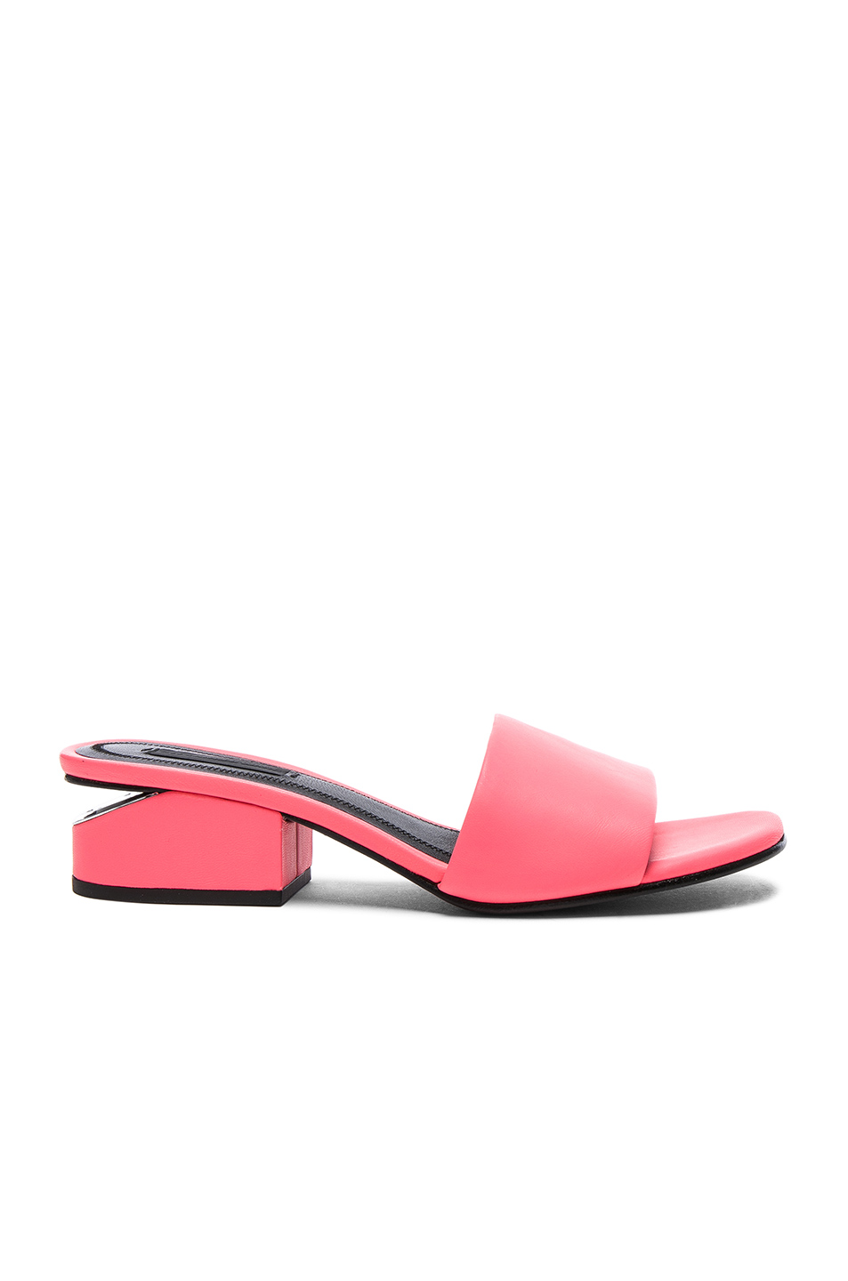 Alexander Wang Suedes Leather Lou Slides