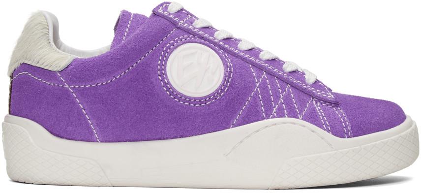 Purple Wave Rough UV Sneakers