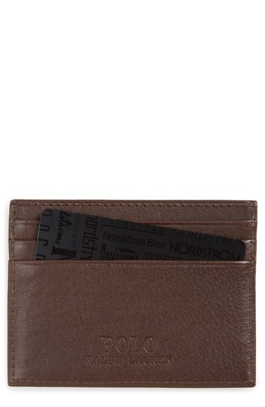 POLO RALPH LAUREN Leather Card Case