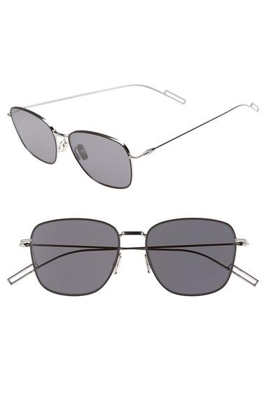 DIOR HOMME 'Composit 1.1S' 54Mm Metal Sunglasses