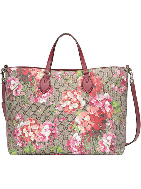 GUCCI Soft Gg Blooms Tote