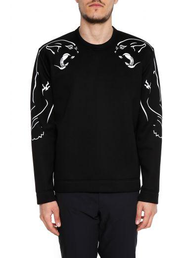 VALENTINO Valentino Panther Print Sweatshirt