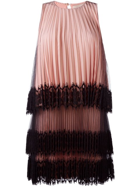 CHRISTOPHER KANE Pleated Tulle Dress