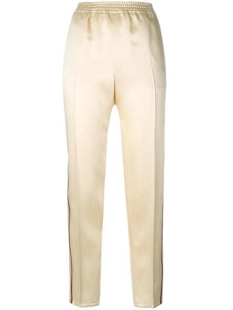 GUCCI Web-Trimmed Trousers