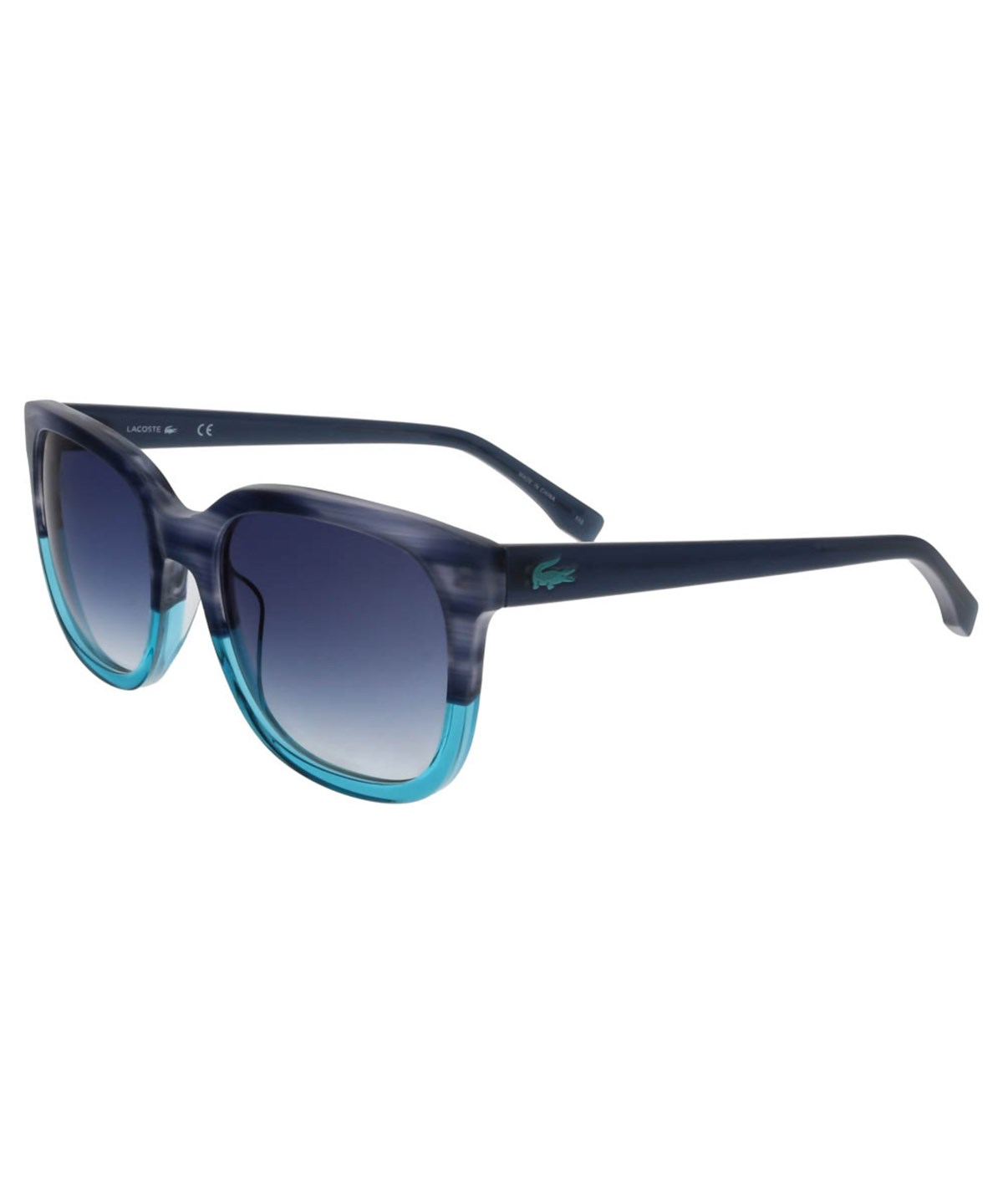 L815/S 424 BLUE SQUARE SUNGLASSES SUNGLASSES