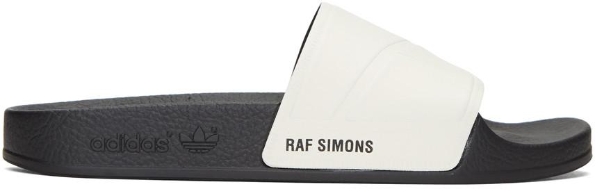 Raf Simons Off-White adidas Originals Edition Adilette Slide Sandals