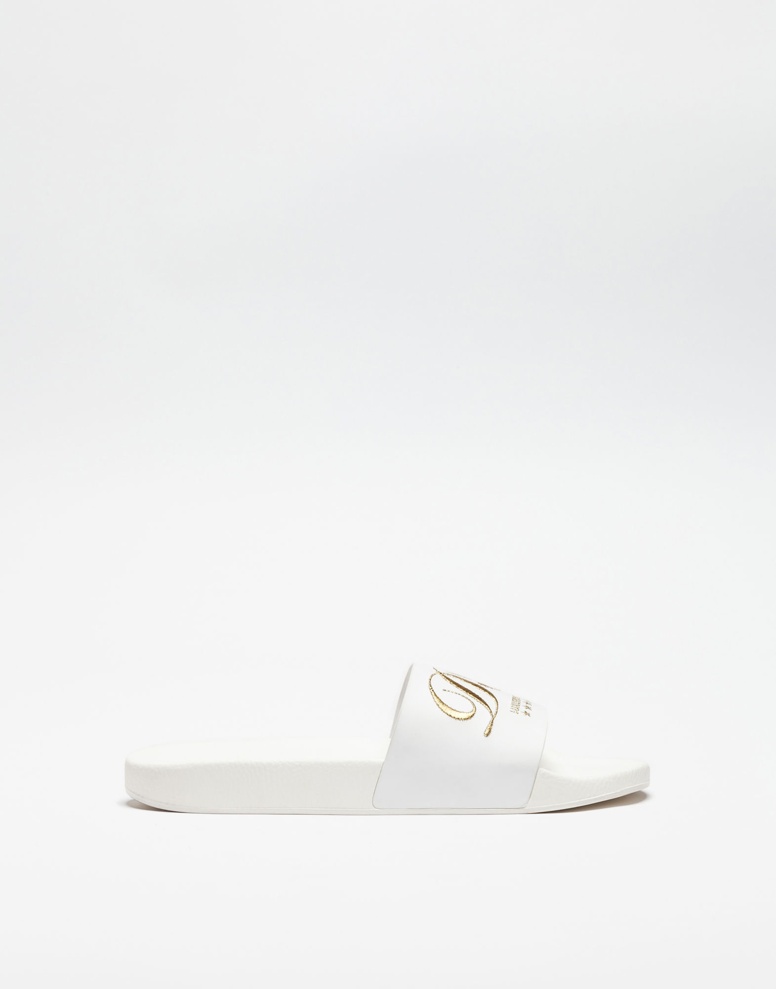 606860b9183 DOLCE   GABBANA DOLCE E GABBANA MEN S WHITE RUBBER SANDALS