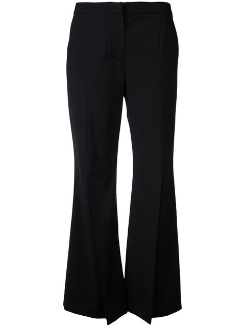 smart flared trousers