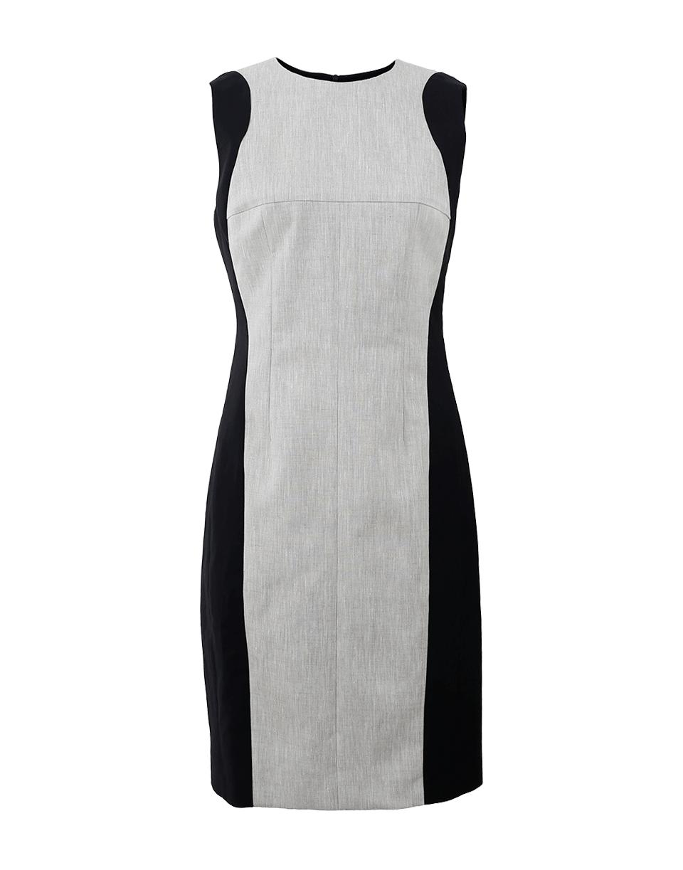 Linen Front Dress