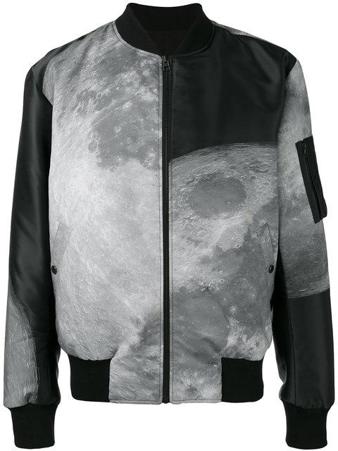 CHRISTOPHER RAEBURN moon print reversible bomber jacket