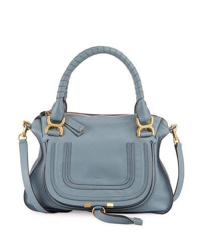 'MEDIUM MARCIE' LEATHER SATCHEL