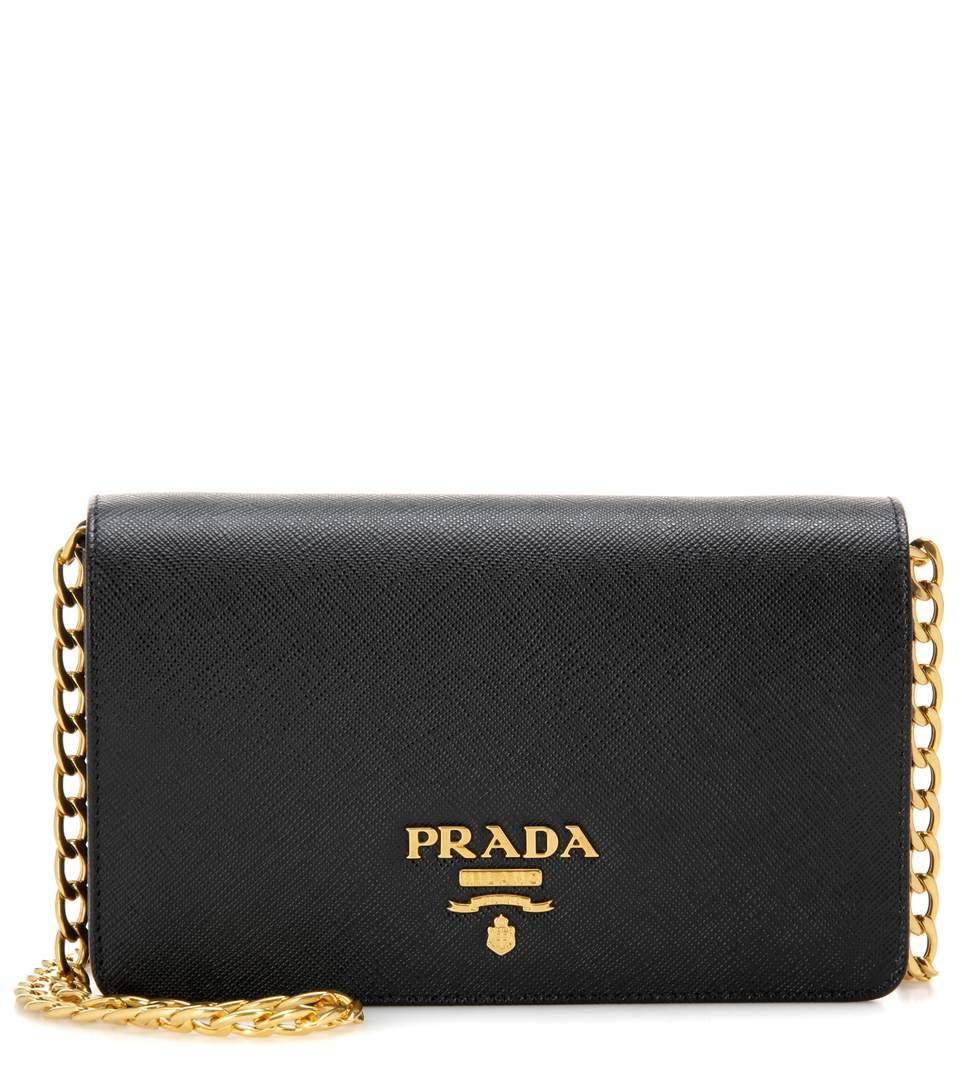 Prada Shoulder Bag With Chain