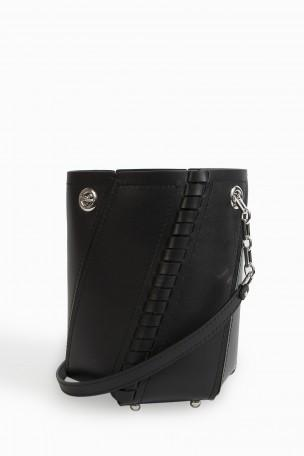 Proenza Schouler Leathers Mini Hex Whip-Stitch Bag