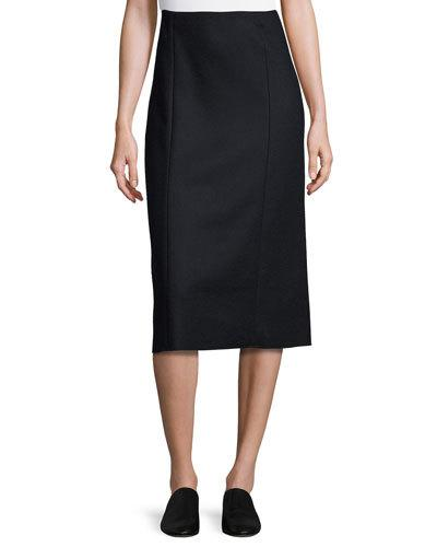 The Row Pencil skirts HERIN PENCIL MIDI SKIRT, NAVY