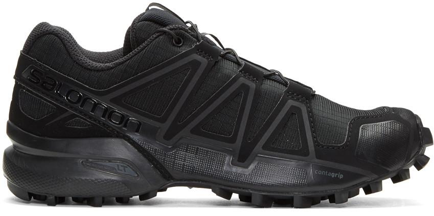 BORIS BIDJAN SABERI Black Salomon Edition Speedcross 4 Sneakers