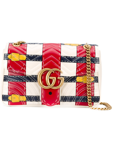 large GG Marmont trompe l'oeil shoulder bag