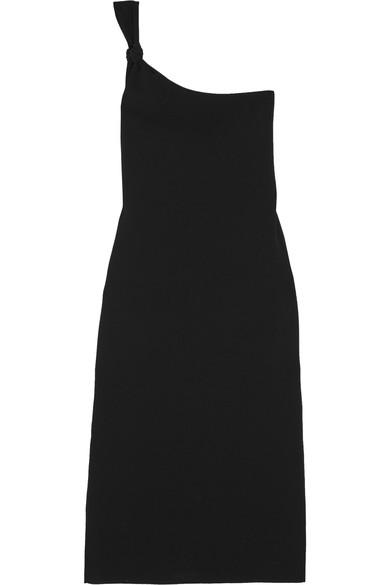 Totême Silks Murcia one-shoulder crepe midi dress