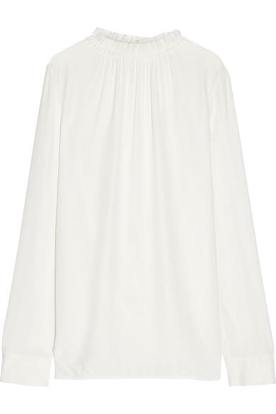 Marni Blouses Gathered crepe blouse