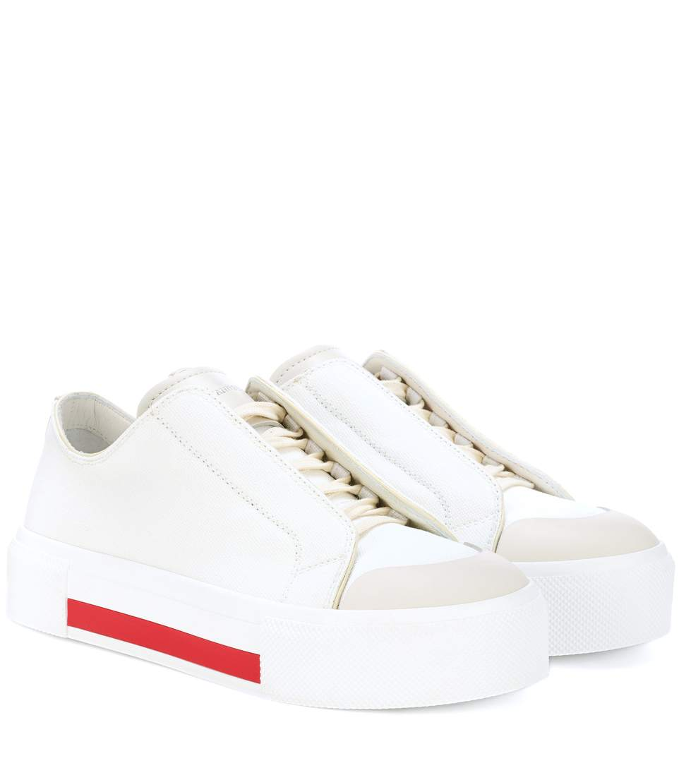 40MM COTTON CANVAS SNEAKERS