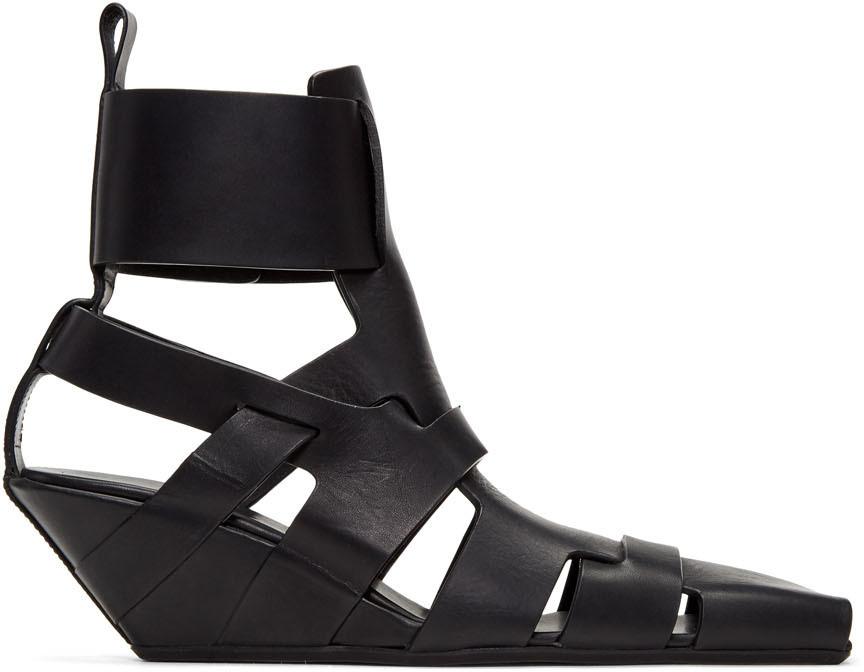 Black Lazarus Gladiator Sandals