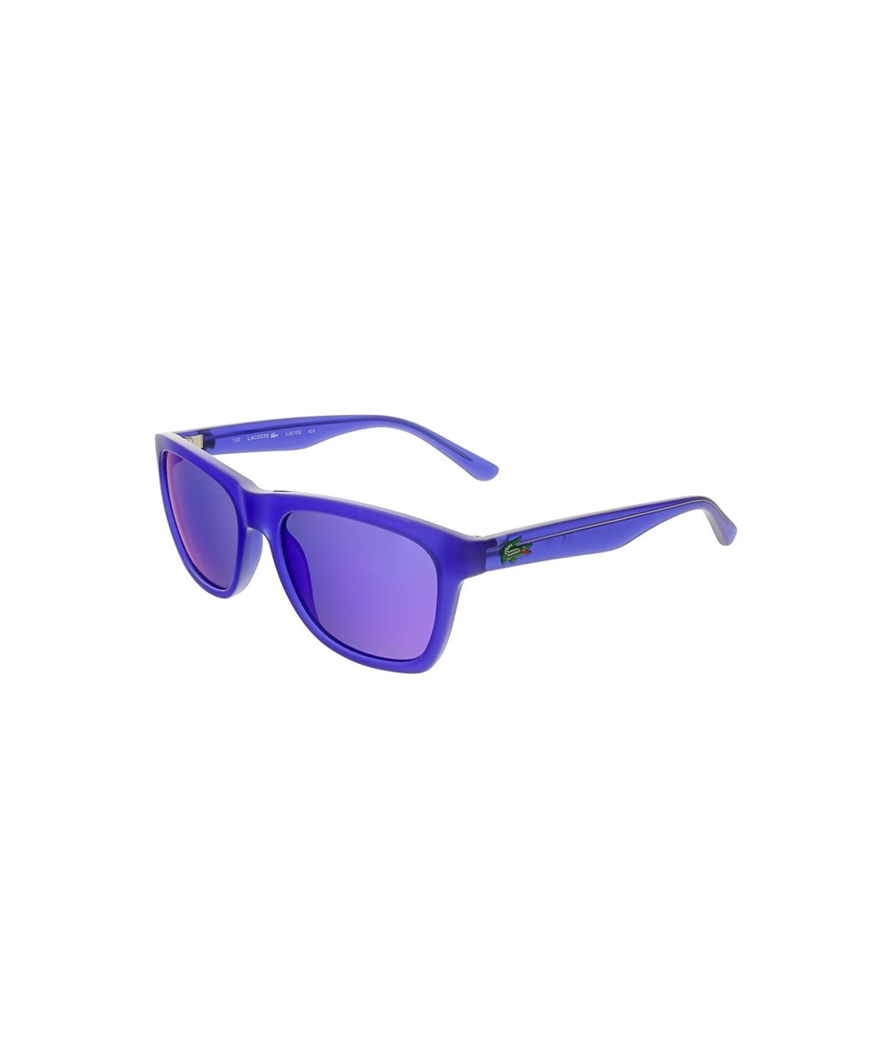 L3610S 424 ELECTRIC BLUE RECTANGLE SUNGLASSES