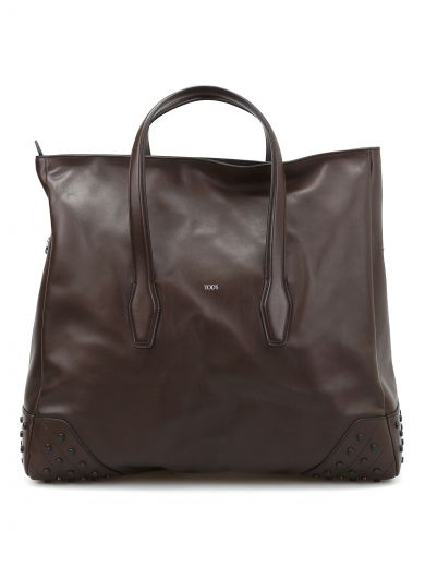 Tod's Travel Bag In Leather