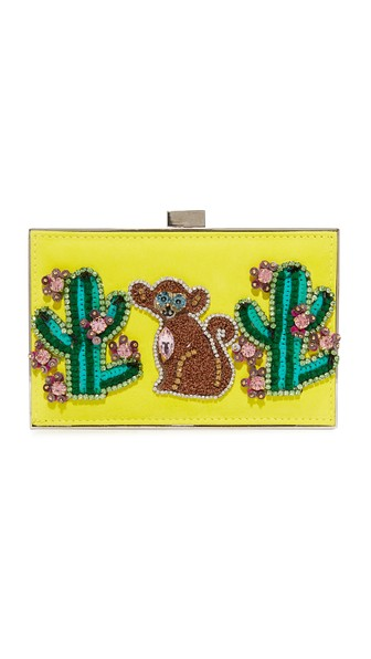 MONKEY AND CACTUS CLUTCH