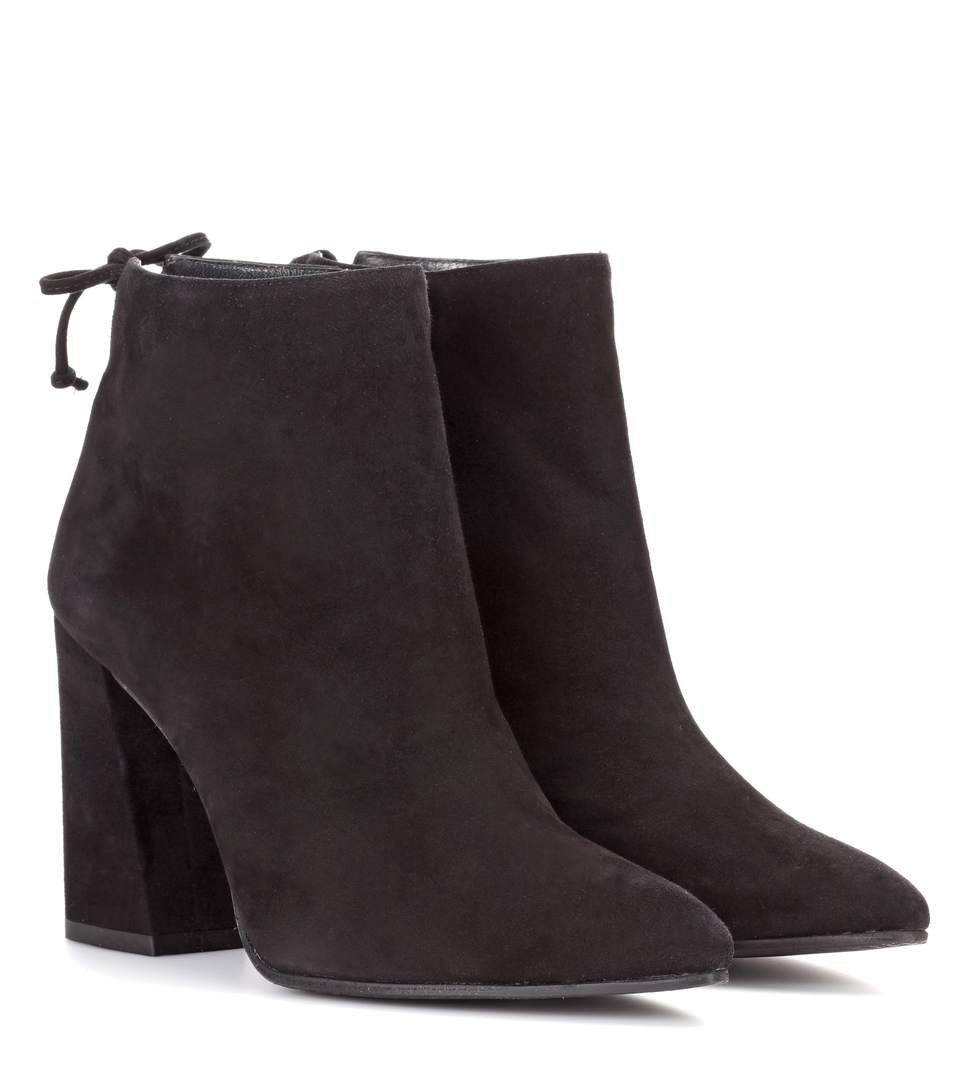 90MM GRANDIOSE SUEDE ANKLE BOOTS