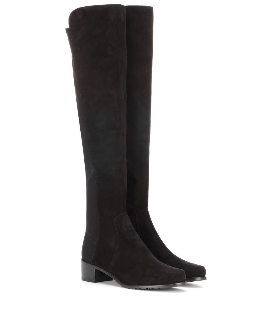 RESERVE SUEDE KNEE-HIGH BOOTS