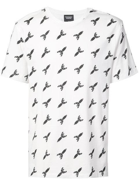 CHRISTOPHER RAEBURN rocket mascot T-shirt