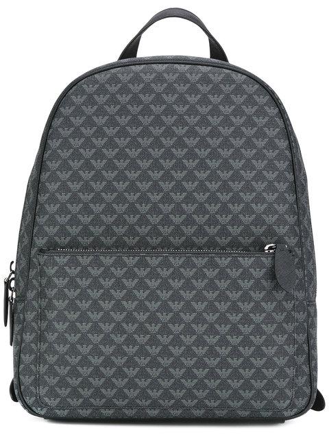 EMPORIO ARMANI Logo Embossed Backpack