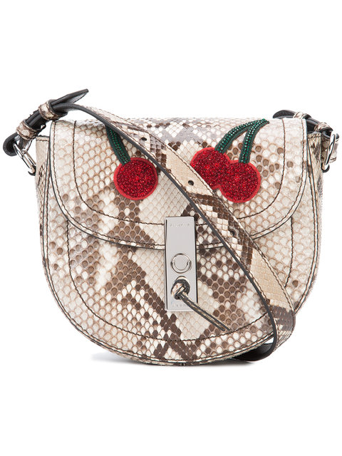 Multicolor 'Ghianda' Saddle Mini Bag